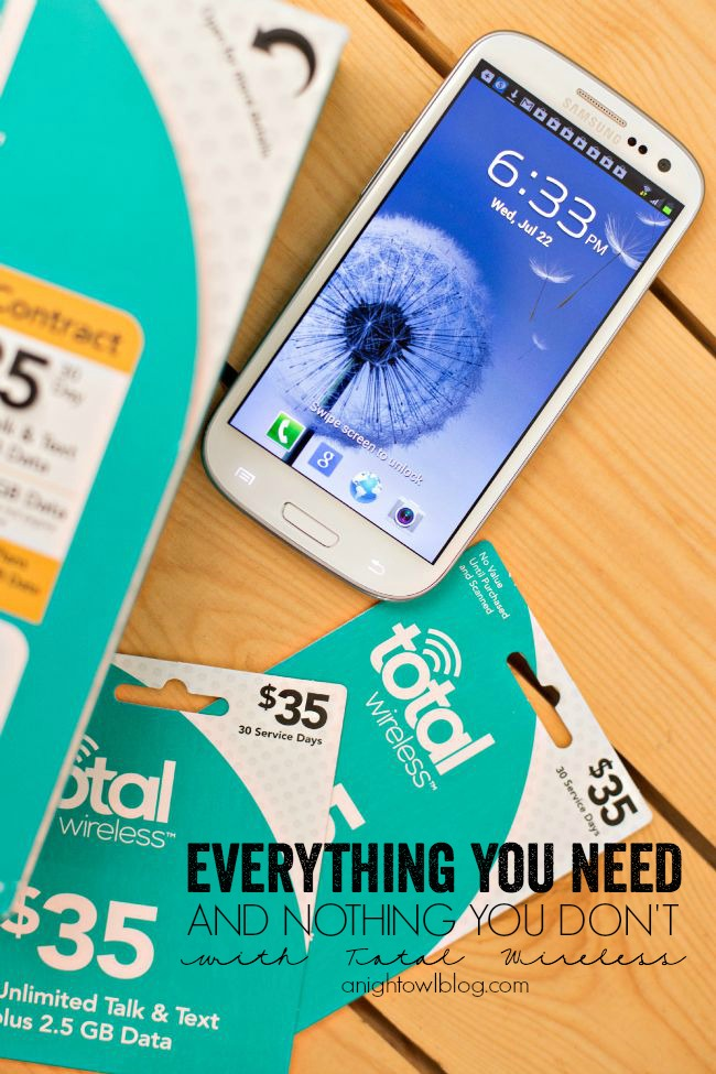 Everything You Need with Total Wireless