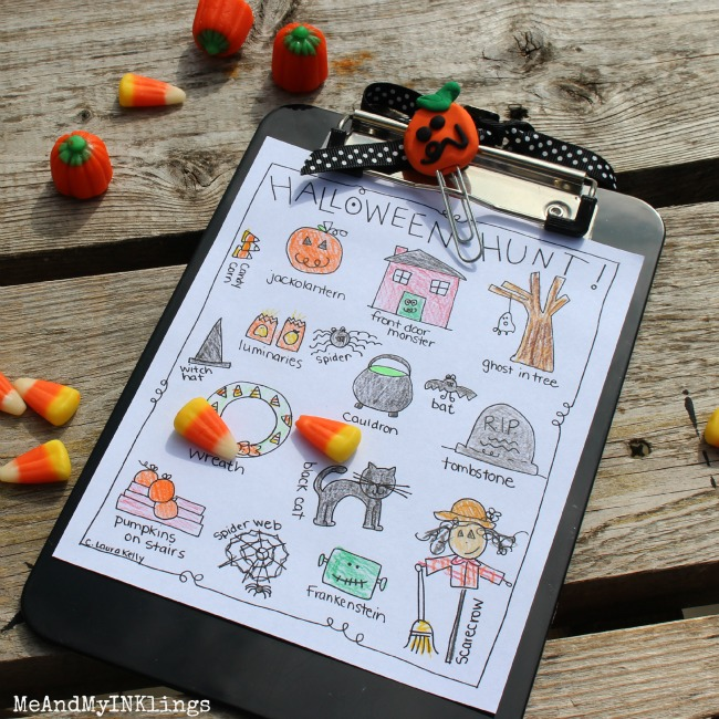 Halloween Hunt Printable