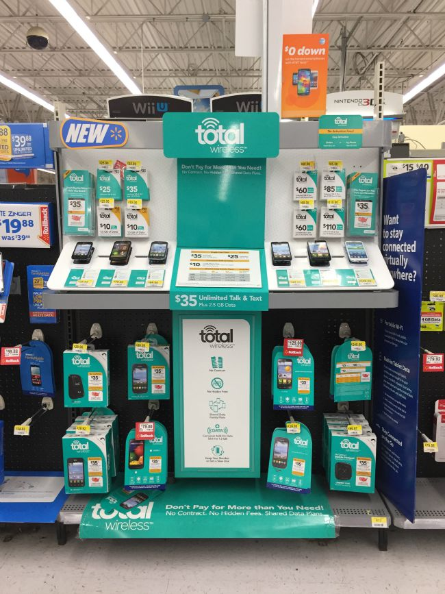 Total Wireless at Walmart