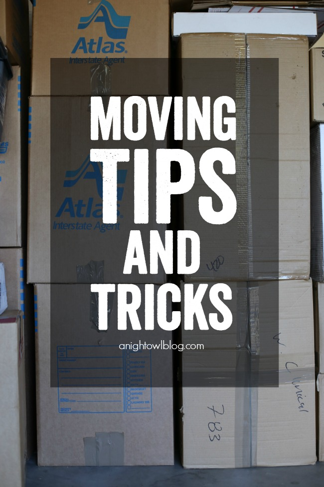 Make planning and executing your next move less painful with these Moving Tips and Tricks!