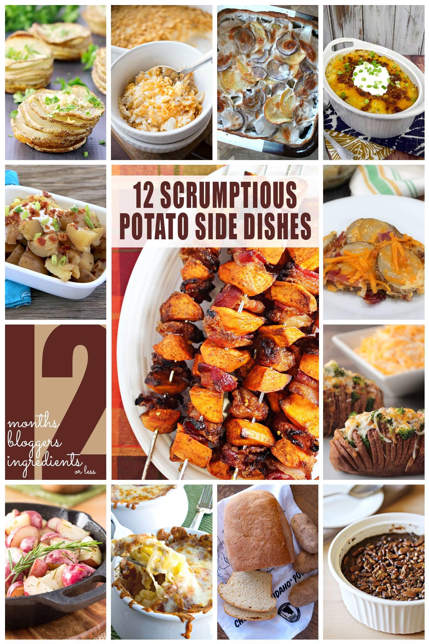 12 Scrumptious Potato Side Dishes   anightowlblog.com
